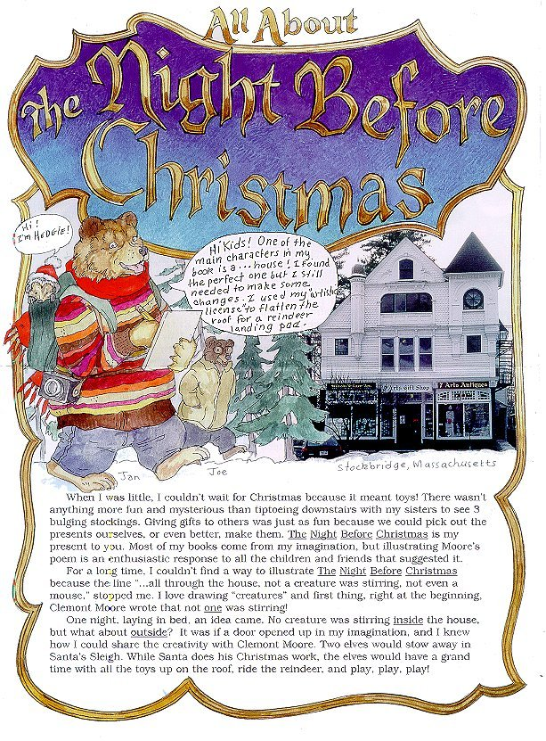The Night Before Christmas Newsnotes page 1