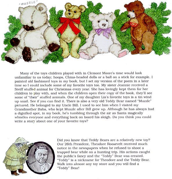The Night Before Christmas Newsnotes page 3