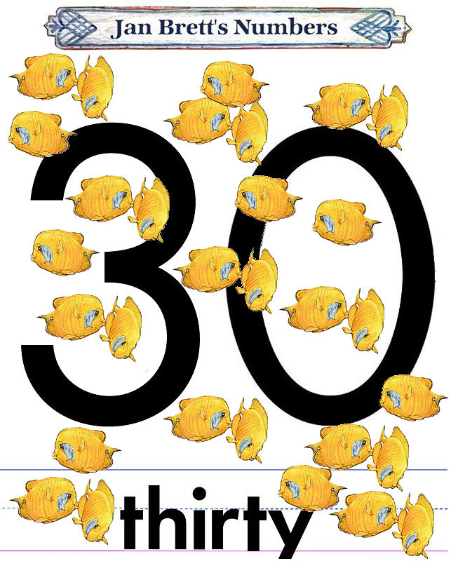 30 number images