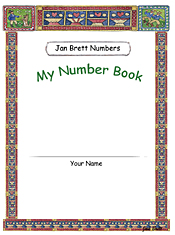 Jan Brett's Number Book Cover 3