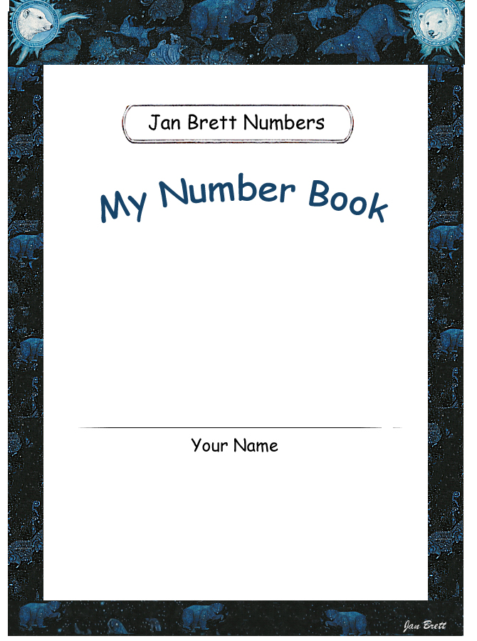 Jan Brett's Number Book Cover 4
