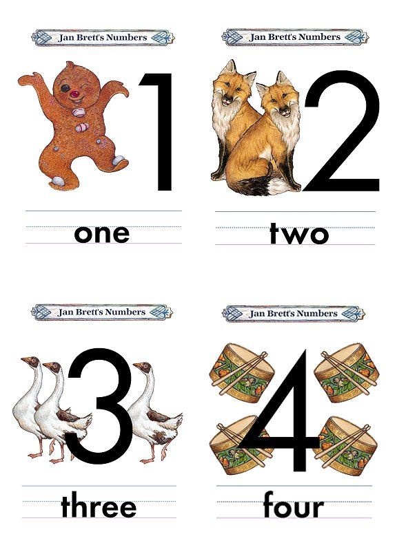 Numbers 1 20 Flashcards