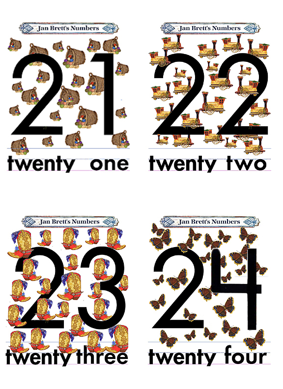 2.0 Flash Cards Numbers