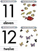 Matching Numbers Game 11 and 12