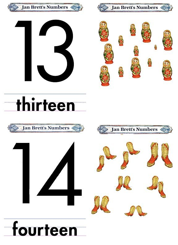 Matching Numbers Game 13 and 14