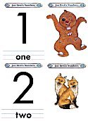Matching Numbers Game 1 and 2
