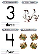 Matching Numbers Game 3 and 4 open top