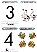 Matching Numbers Game 3 and 4