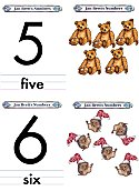 Matching Numbers Game 5 and 6