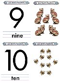 Matching Numbers Game 9 and 10