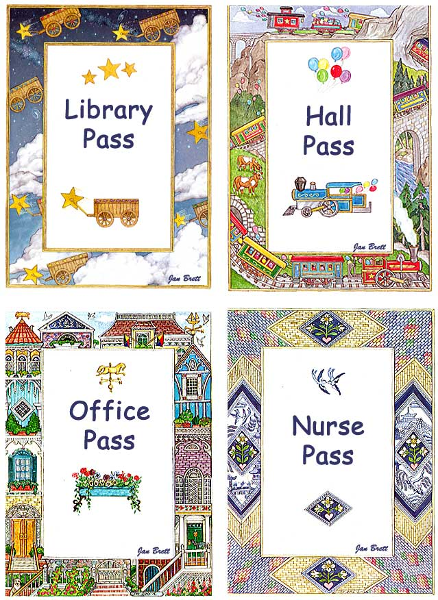 Passes for School and Library