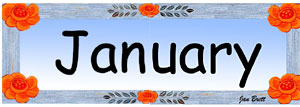 Pocket Calendar January