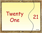 Matching Numbers Game 21
