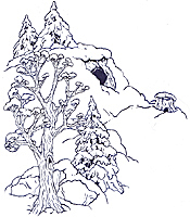 The Background Hill coloring page small size