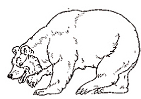 the mitten coloring pages-#6