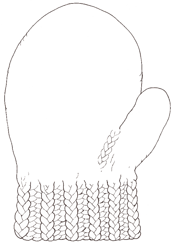 The Mitten Jan Brett Coloring Pages