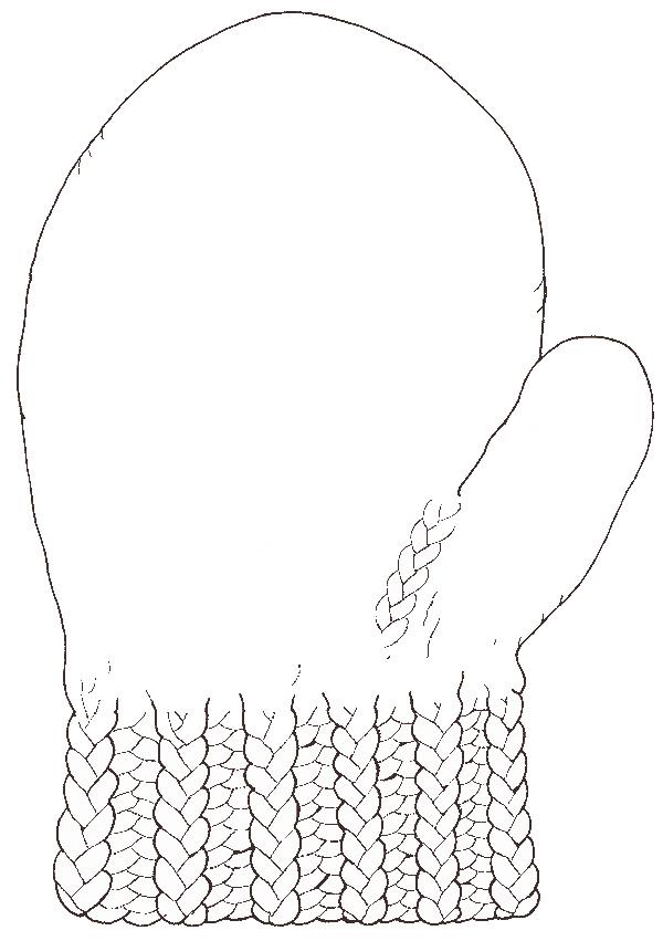 Glove reversed