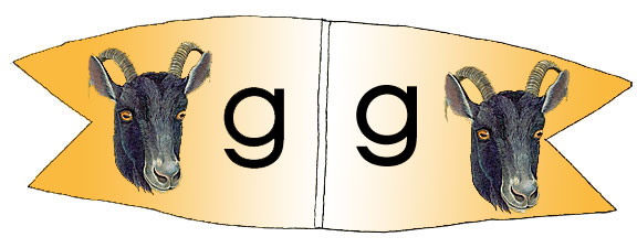 Toothpick Alphabet Lower Case g