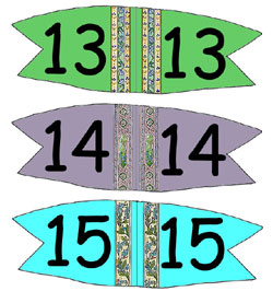 Toothpick Number Flags 13-15