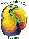 Umbrella Masks Toucan